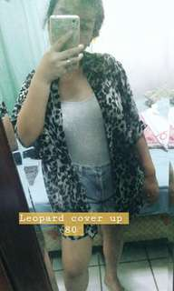 Leopard Print Cover Up