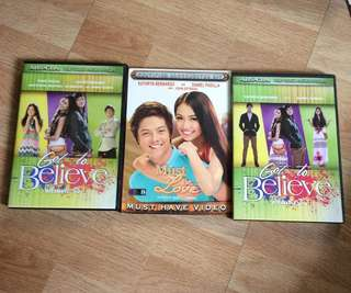 GOT TO BELIEVE, MUST BE LOVE KATHNIEL DVD