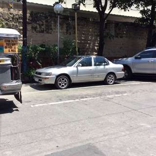 Toyota Corolla XL '94...silver.. good condition as is where is