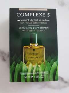 Rene Furterer Complexe 5 plant extract with essential oil for hair scalp treatment 50ml