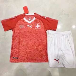 2018 Switzerland kids jersey