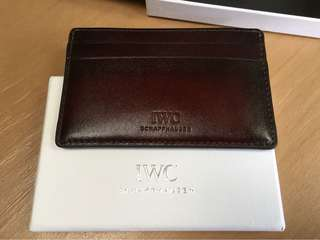 IWC Card Holder new with box