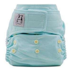 Moo Moo Kow Velcro Aplix Cloth Diaper SEASPRAY