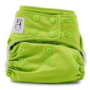 Moo Moo Kow Snap Cloth Diaper MINT GREEN