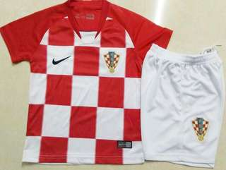 2018 Croatia Kids jersey