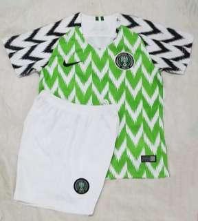 2018 Nigeria Kids jersey