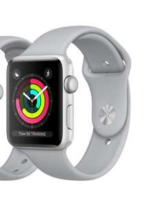 Apple Watch 3 GPS + LTE, 42mm (silver aluminum fog sports band)