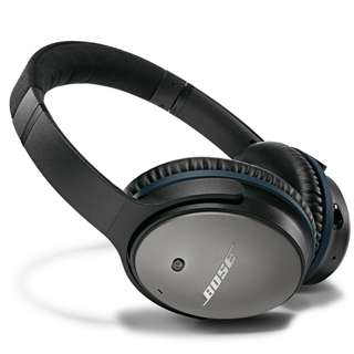 Bose QC25 QuietComfort 25 Acoustic Noise Cancelling Black headphones – Samsung and Android