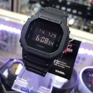 G-SHOCK 經典款 5600方形 全黑 最classic款