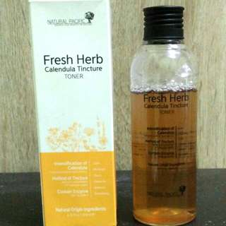 Natural Pacific Fresh Herb Calendula Toner