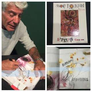 Hand-Signed by Anthony Bourdain - Appetites: A Cookbook