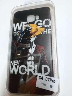 samsung Galaxy C7 Pro 卡通手機殻