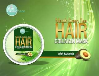 Macha Green Tea Hair Collagen Mask