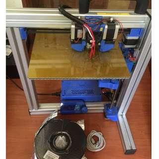 Felix 3.0 printer single extruder