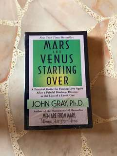 Mars & Venus starting over John gray