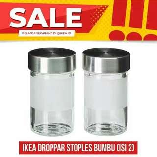 Ikea tempat bumbu 2pcs