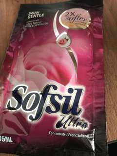 Sofsil ultra concentrated fabric sofetener 45mls