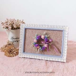 Handmade Dried Photo Frame