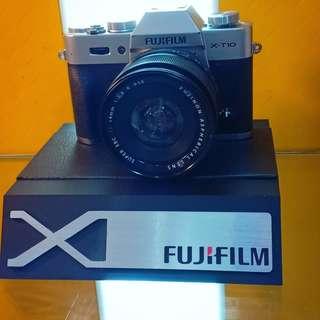 Kredit camera Fuji Film X-A20 proses cepat