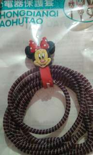 Spiral Cable Protector/ Pelindung Kabel (Minnie Mouse)