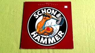 SCHON & HAMMER . NEAL SCHON & JAN HAMMER . herd to stay . Vinyl record