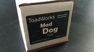 Toadworks Mad Dog Fuzz Pedal