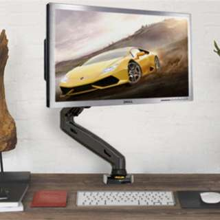 Home / Monitor Mount stand / (F80) Gas Strut Desktop Monitor Mount for 27″