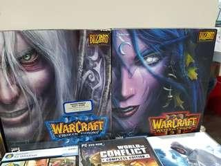 Warcraft 3 and expansion set