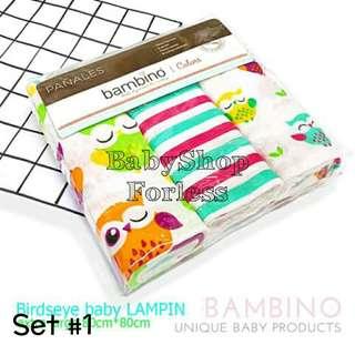 3pc Birdseye Lampin - SET #1
