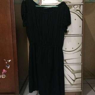 dress hitam#diskonloh