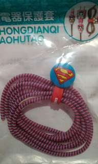 Spiral Cable Protector / Pelindung Kabel (Superman)