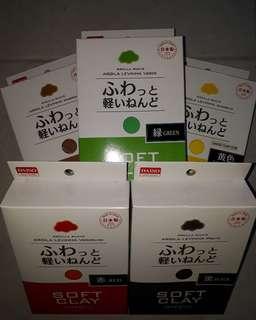 supplies - daiso soft clay