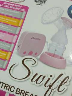 Autumnz single Electric Breastpump and free storage bottle