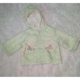 Mint Green Rain Jacket