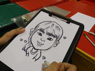 Caricature drawing event