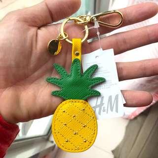 H&M Juicy Pineapple Keychain