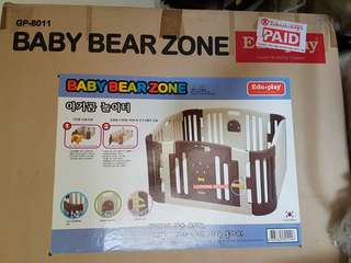 Edu.play Baby Bear Zone Play-yard
