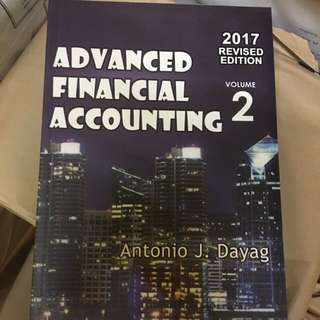 Advance accounting 2