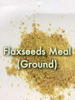 Flaxseeds Meal (Ground Flaxseeds) 100 grams