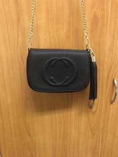 🚚 出清 全新 時尚 雙C 超級有質感 小包 附金鍊
