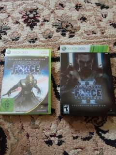 X360 - Star Wars Force Unleashed 1 & 2 Special Sets