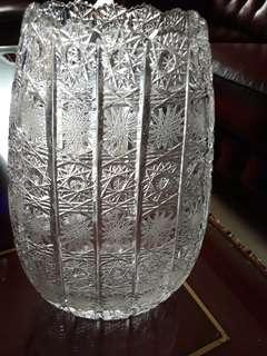 Kristal vas tinggi 28 cm