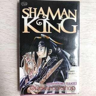 Komik M&C MNC Cabutan Satuan - Shaman King No 4 - Hiroyuki Takei