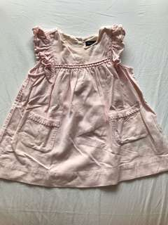 Baby GAP pink corduroy dress