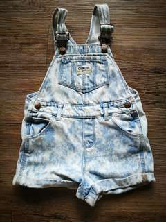 Oshkosh Distressed Overall