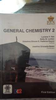 GENERAL CHEMISTRY 2 by REX