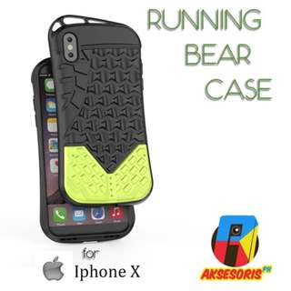 COD IPHONE X RUNNING BEAR CASE