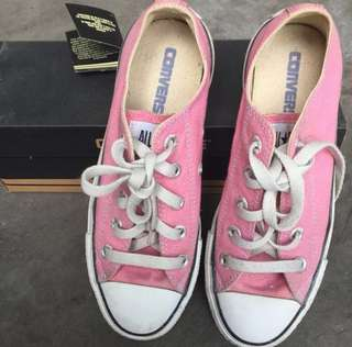 Authentic Converse All Star Pink