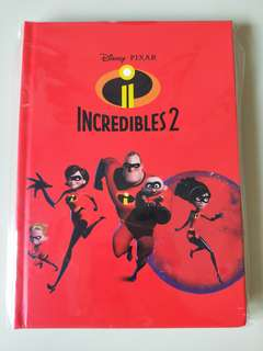 🚚 Incredibles Hardcover Notebook