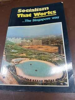 1976 book - socialism that works - the singapore way